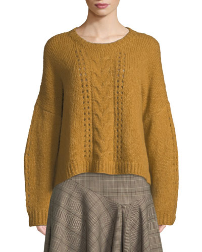Perfect Baby Alpaca/Wool Pullover Sweater