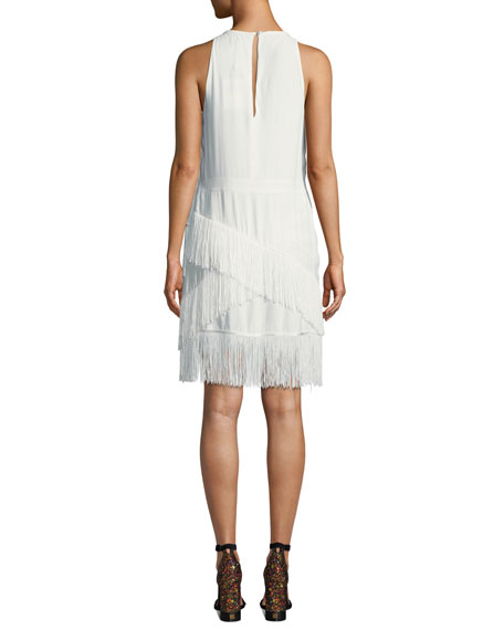 Amiyah Fringe Sheath Dress