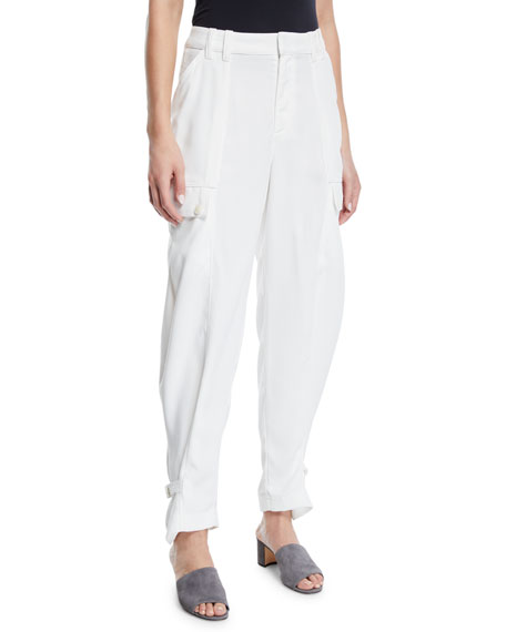 Joie Alexica Draped Cargo Pants