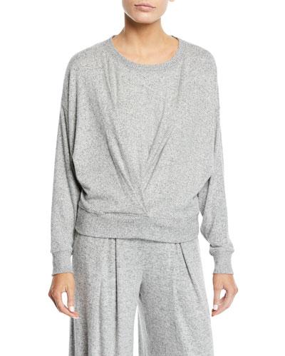 Yerrick Draped Sweatshirt
