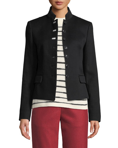 Rei Tailored Cotton Blazer