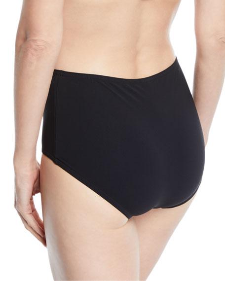 Basic High-Waist Swim Bikini Bottom