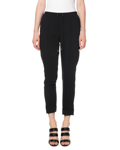 Tailored Drawstring Jogger Pants