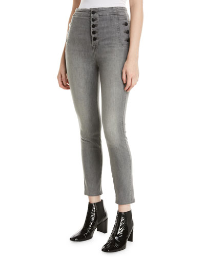 Natasha Sky-High Crop Skinny Jeans