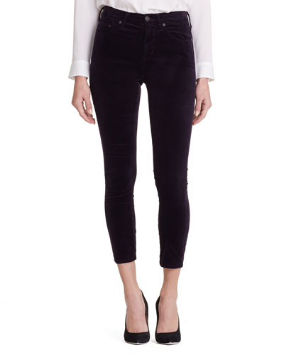 Rocket High-Rise Supima® Cotton Skinny Jeans