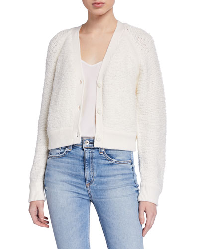 Brooke Wool Knit Cardigan