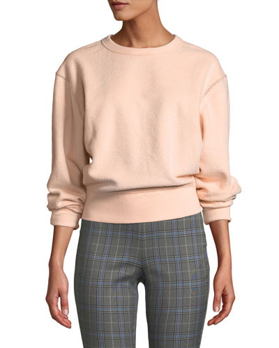 Brushed Inside Out Terry Sweatshirt