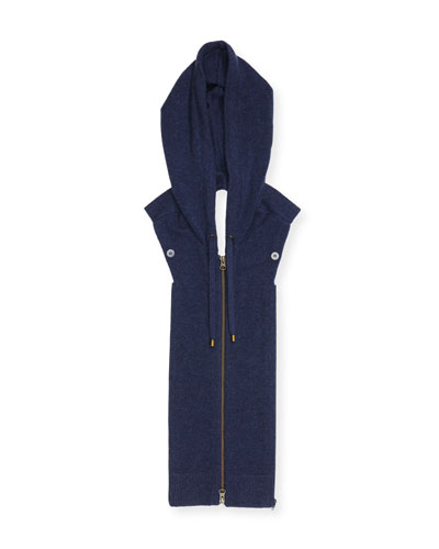 Storey Hooded Cashmere Dickey