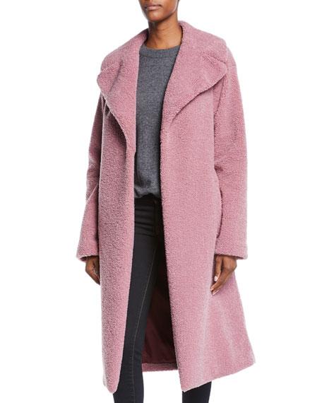 Harlan Open-Front Faux-Fur Coat