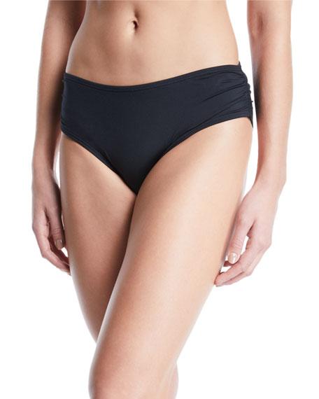 f1e512fb4969f Carmen Marc Valvo Side-Shirred Full-Coverage Bikini Bottoms