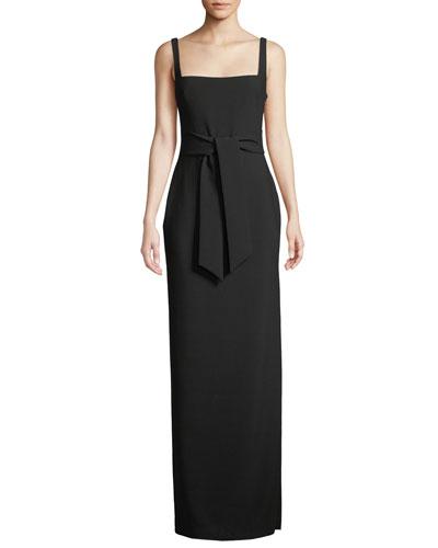Phillipa Sleeveless Cutout Gown