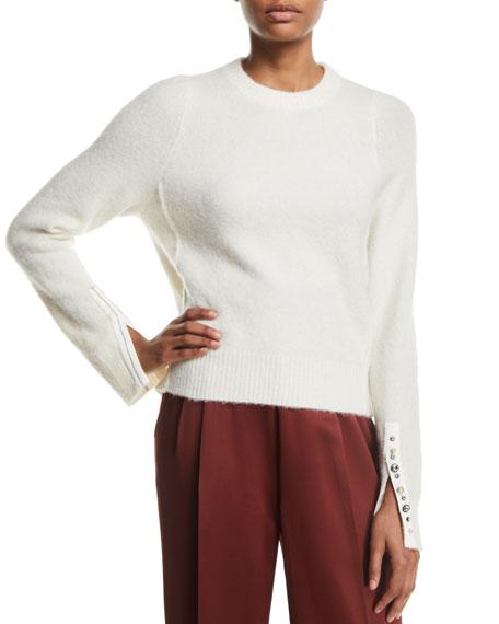 e853775d68da 3.1 Phillip Lim Alpaca-Wool Embellished Pullover Sweater