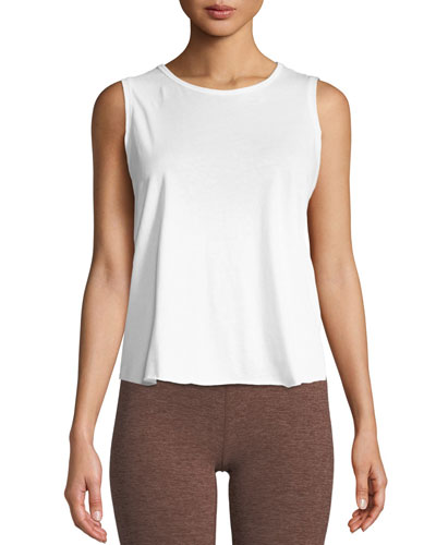 All About It Cropped Tank