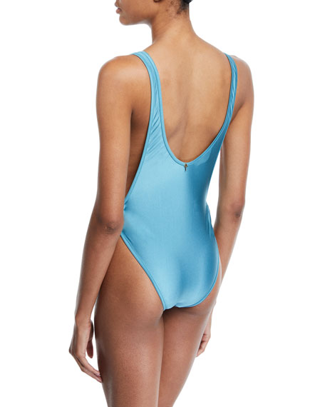 Liso High-Leg One-Piece Swimsuit