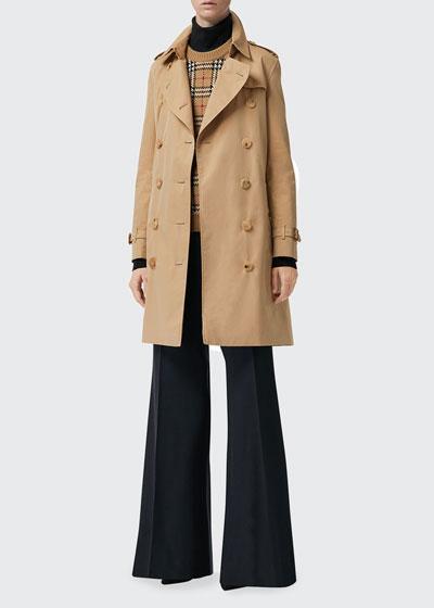 Kensington Belted Trench Coat