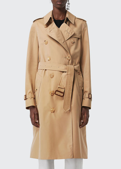 Kensington Belted Long Trench Coat
