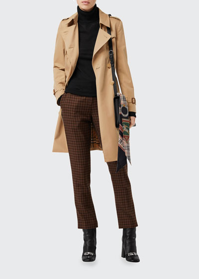 The Chelsea Heritage Slim-Fit Trench Coat