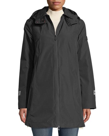 in stock 44295 6268c Huyana Water-Repellent Coat w/ Detachable Hood