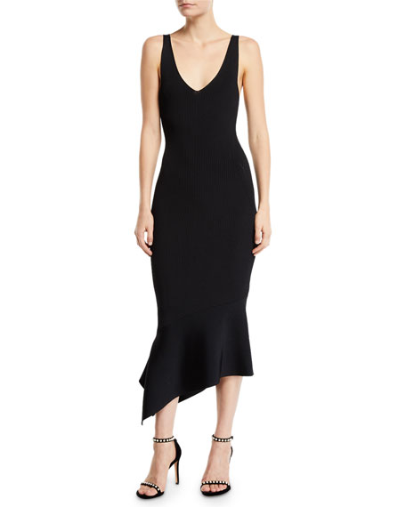 Alexis SELMA RIBBED MERMAID COCKTAIL DRESS