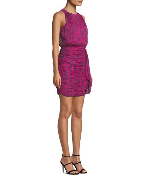 f9ce9af29d3e Diane von Furstenberg Micah Silk Floral-Print Sleeveless Short Dress