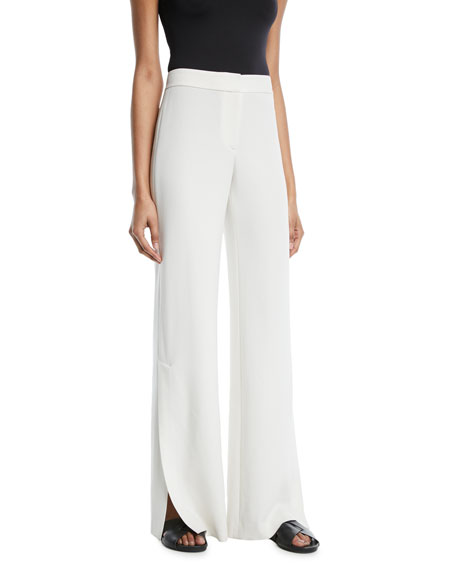 Image 1 of 1: Admiral Crepe High-Slit Pants