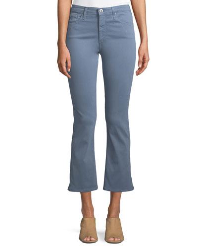 Jodi Slim Flared Crop Jeans