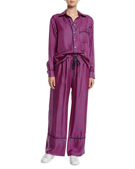 Sing Me To Sleep Striped Pajama Pants