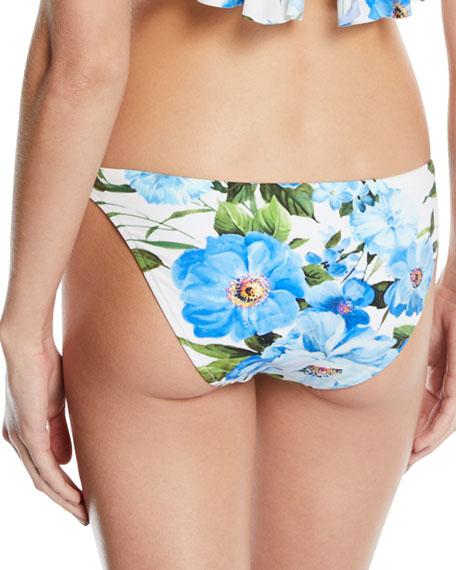 St. Lucia Floral Hipster Bikini Swim Bottoms