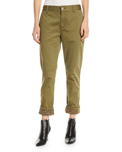 The Confidant Twill Straight-Leg Pants