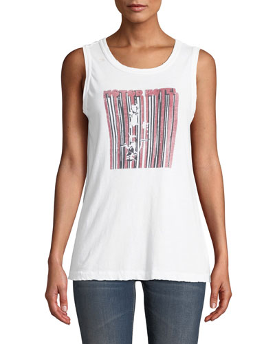 The Easy Graphic Muscle Tank