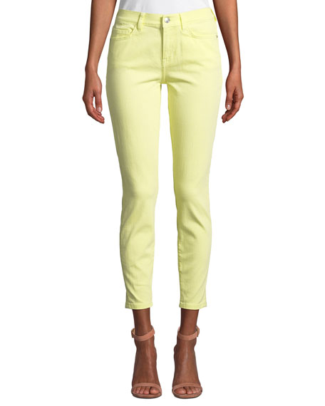 Current Elliott THE STILETTO ANKLE SKINNY JEANS