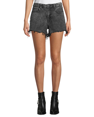 Bite High-Rise Cutoff Denim Shorts