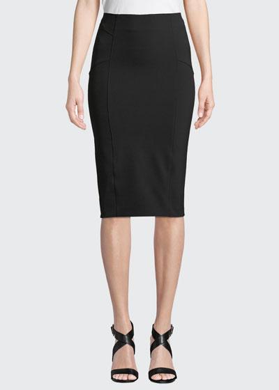 Vail Midi-Length Pencil Skirt