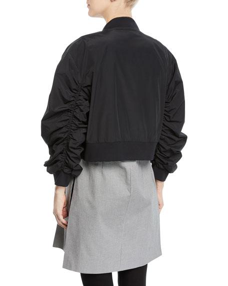 Zip-Off Bomber Coat with Vest