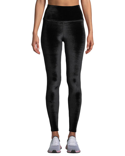 Velvet Motion High-Waist Leggings