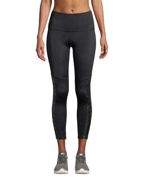 Beyond Yoga Down The Line Compression Midi Leggings