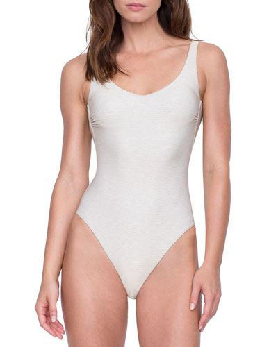 Orlena Square-Neck One-Piece Swimsuit