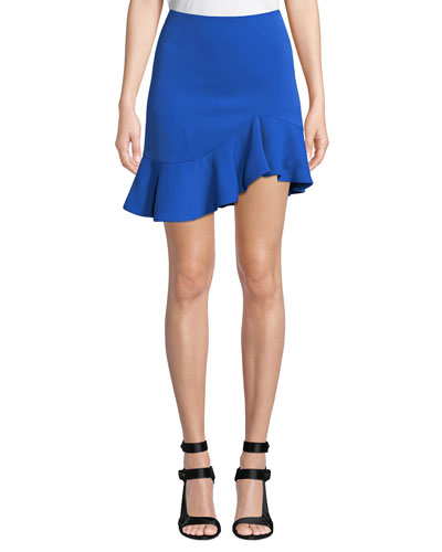 Marcella Asymmetrical Ruffle Skirt