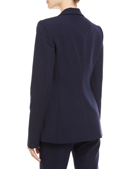 Macey Notch-Collar Blazer