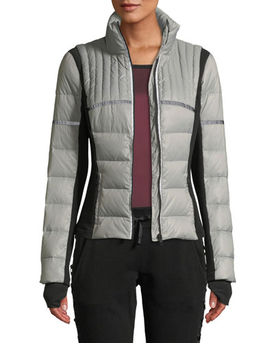 Featherweight Reflective Down Puffer Jacket