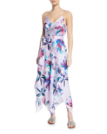 Gottex Dresses PRIMROSE WRAP COVERUP MAXI DRESS