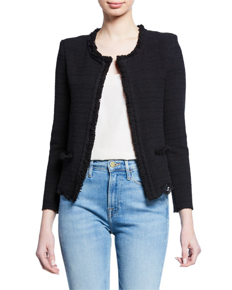 Wondrous Structured Tweed Jacket