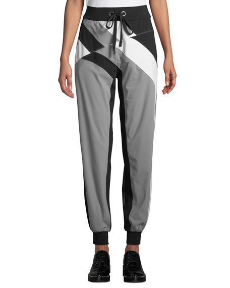 No Ka'oi PANA COLORBLOCK DRAWSTRING JOGGER PANTS