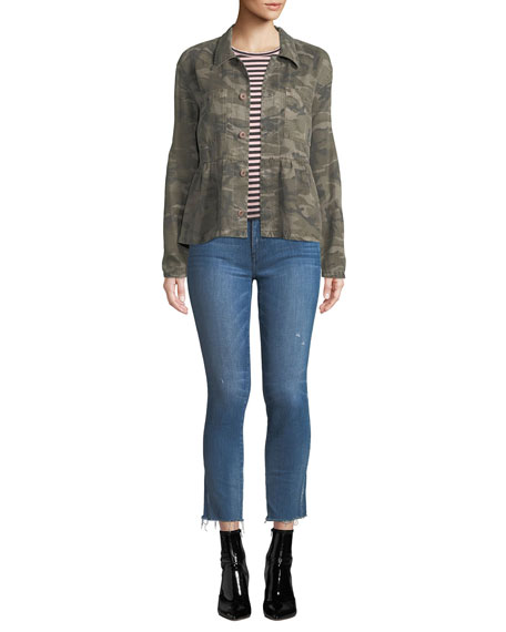 Stix Mid-Rise Cropped Skinny Jeans