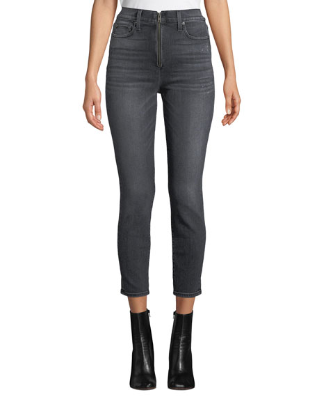 ALICE + OLIVIA JEANS Good High-Rise Ankle Skinny