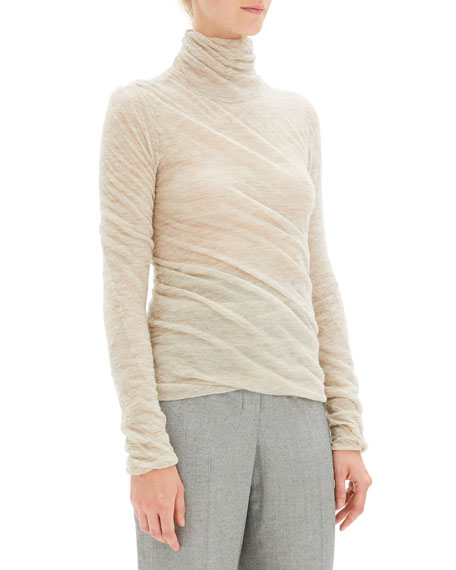 2e18c2930ec Theory Twisted Turtleneck Alpaca Sweater