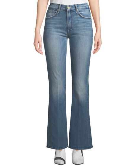 MOTHER The Desperado Distressed Jeans