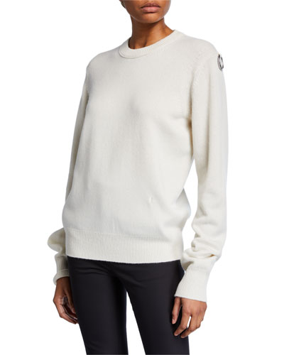 Ring Cashmere Crewneck Pullover Sweater