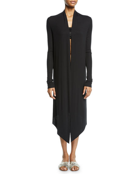 Michi Open-Front Midi Cardigan