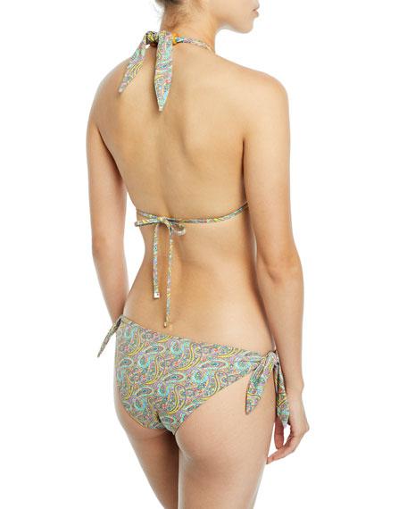 Reversible Halter Two-Piece Bikini Swim Set